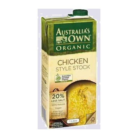 Australia's Own Organic Chicken Style Stock 1L