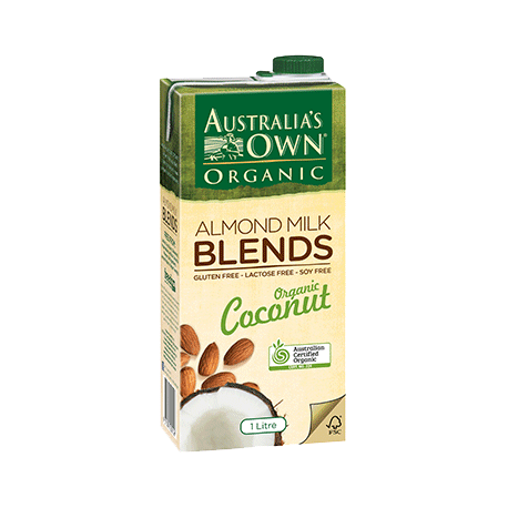 Australia's Own Organic Coconut & Almond Blends Mik 1L