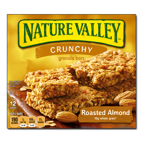 Nature Valley Crunchy Roasted Almond 12 Bars
