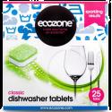 Ecozone Classic Dishwasher Tablets 25