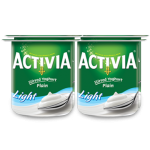 Activia Stirred Yoghurt Plain Light 4x120g
