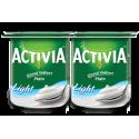 Activia Stirred Yoghurt Plain Light 4x120g