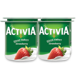 Activia Stirred Yogurt Strawberry 4x120g