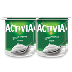 Activia Stirred Yogurt Plain 4x120g