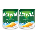 Activia Stirred Yoghurt Mango Light 4x120g