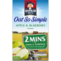 Quaker Oats So Simple Apple & Bluberry Porridge 10 Sachets 360g