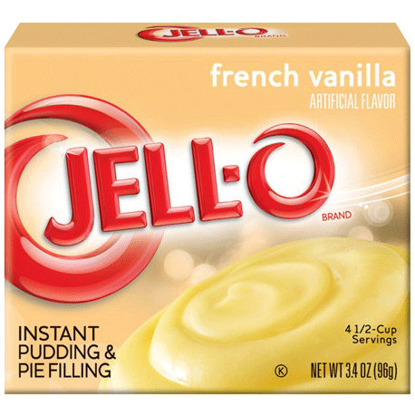Jell-O French Vanilla Instant Pudding & Pie Filling 96g