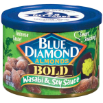 Blue Diamond Bold Wasabi & Soy Sauce Almonds 170g