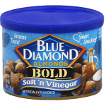 Blue Diamond Bold Salt'n Vinegar Almonds 170g