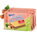 Manner Picknick Crispy Hazelnut Wafers 6x20.8g