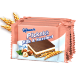 Manner Picknick MIlk & Hazelnut Wafers 6x20.8g