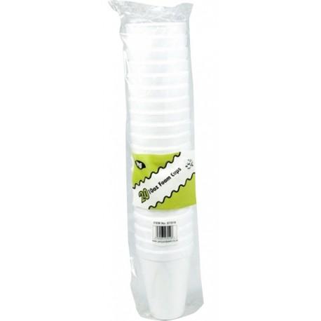 Hotpack 25 Foam Cups