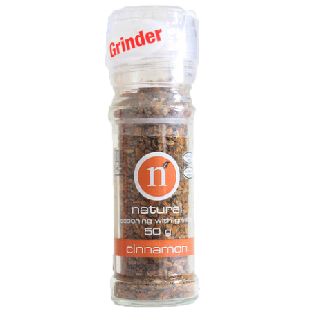 Natural Cinnamon with Grinder 50g