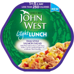 John West Light Lunch Thai Style Salmon Salad 220g
