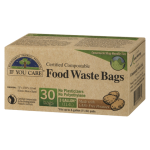 If You Care Food Waste Bags 30 Certified Compostable Bags