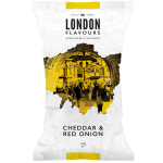 London Flavours Cheddar & Red Onion Potato Chips 150g