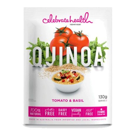 Celebrate Health Tomato & Basil Quinoa 130g