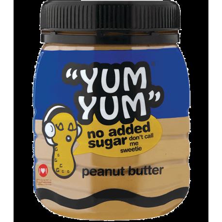 Yumyum No Added Sugar & Salt Creamy Peanut Butter 400g