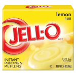 Jell-O Lemon Flavour Instant Pudding & Pie Filling 119g