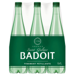 Badoit Sparkling Natural Mineral Water 6x1L Pack