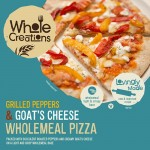 Whole Creations Grilled Peppers & Goat's Cheese Wholemeal Pizza 350g
