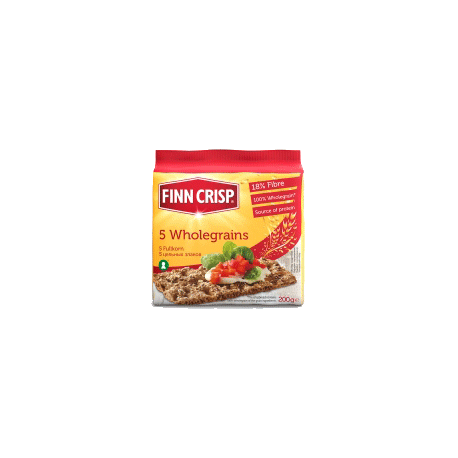 Finn Crisps 5 Wholegrains Thin Crispbread 200g