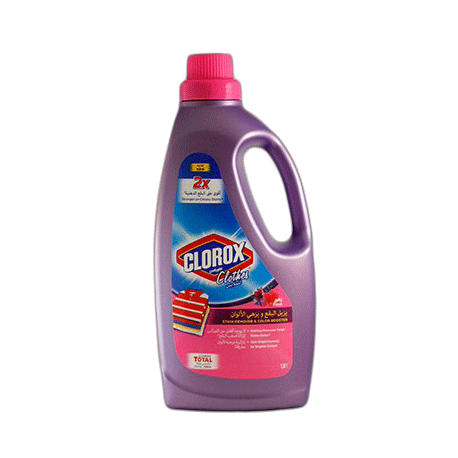 Clorox Clothes 2x Stronger Stain Remover & Color Booster Floral 900ml