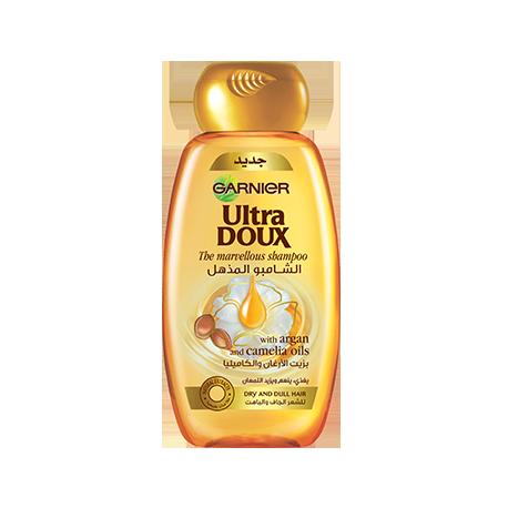 Garnier Ultra Dou Argan & Camelia Oils Marvelous Shampoo 400ml