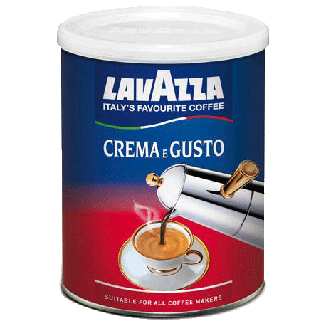 Lavazza Crema E Gusto Ground Coffee 250g