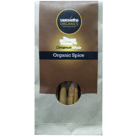 Saaraketha Organic Cinnamon Whole 50g
