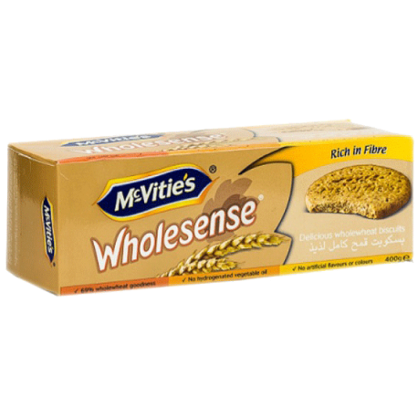 McVities Wholesense Wholewheat Biscuits 400g