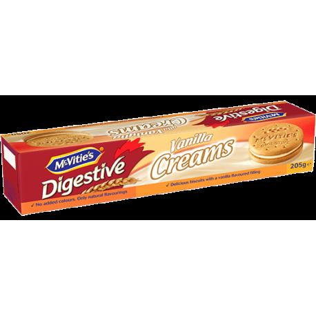 McVities Vanilla Creams Filled Biscuits 200g