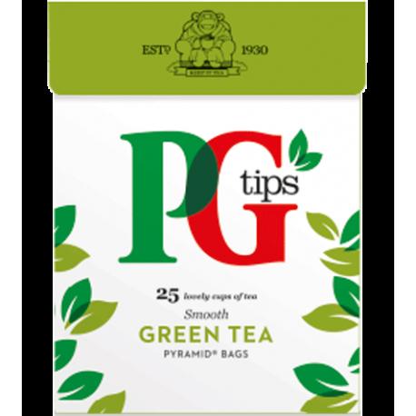 PG Tips Green Tea 25 Pyramid Teabags
