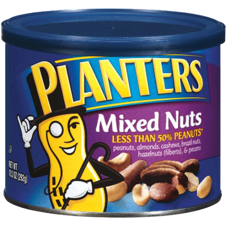 Planters Unsalted Mixed Nuts 292g