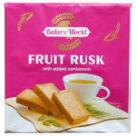 Bakers World Fruit Rusk 200g