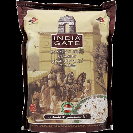 India Gate Basmati Rice Classic 2kg