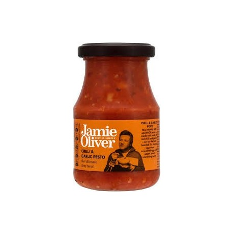 Jamie Oliver Chilli & Garlic Pesto 190g