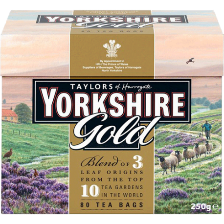 Yorkshire Gold Blend 100 Tea Bags