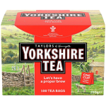 Yorkshire Classic 100 Tea Bags