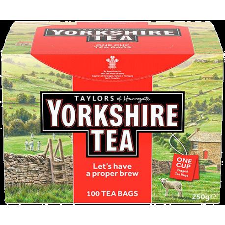 Yorkshire Classic 100 Tea Bags