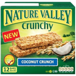 Nature Valley Coconut Crunch Granola 12 bars 6x2