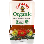 Capilano Organic Natural Honey 340g