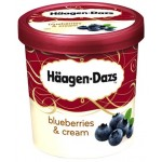 Haagen-Dazs Blueberries & Cream Ice Cream 500ml