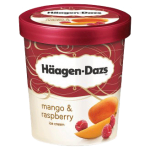 Haagen-Dazs Mango & Raspberry Ice Cream 500ml