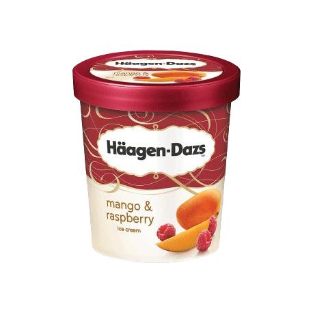 Haagen-Dazs Mango & Raspberry Ice Cream 500ml