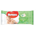 Huggies Natural Care Wipes Fragranced Single Pack 56 Wipes