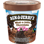 Ben & Jerry's Ice Cream What-a-lotta Chocolate Cookie Core 473ml