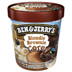 Ben & Jerry's Ice Cream Blondie Brownie Core 473ml