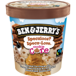 Ben & Jerry's Ice Cream Speculoos Specu-Love. Cookie Core 473ml