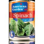 American Garden Cut Leaf Spinach 397g